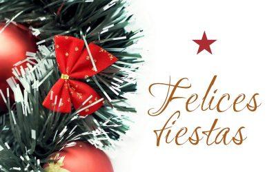 Centro de Jardinería Sánchez les desea Felices Fiestas